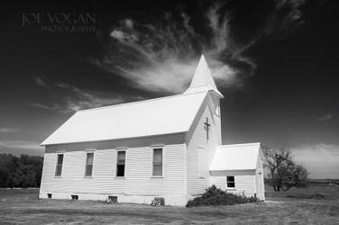 Exterior, Harmony Friends Church, Wessington Springs, South Dakota (Jerauld County), 1913