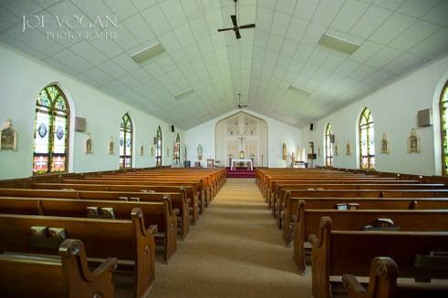 Interior, St. Mary's Catholic Church, Zell, South Dakota (Faulk County)