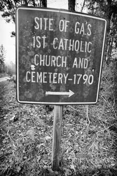 Locust Grove Catholic Cemetery, near Sharon, Georgia