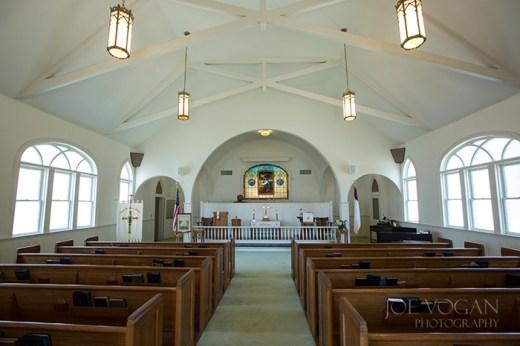 Interior, Estill Methodist Church, South Carolina