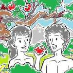 Pictrue - Adam and Eve at http://theolddirtroad.com