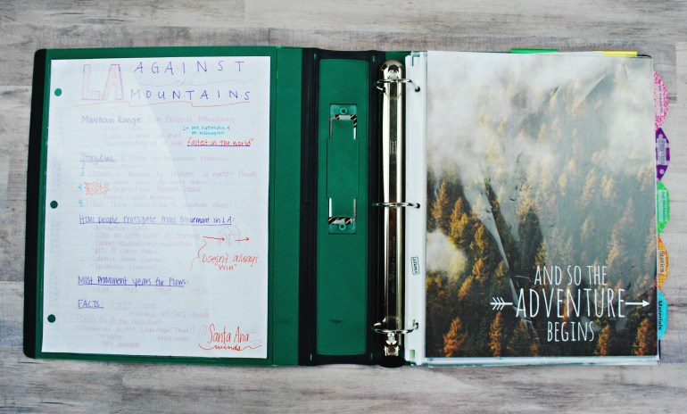 15 Top Tips to an Organized College Binder - The Olden Chapters