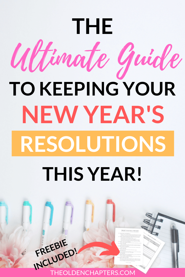 This ultimate guide will ensure you keep your New Years Resolutions this year. Includes ideas, challenges, inspiration, quotes, bullet journal ideas, goals lists and more. Make sure every part of your life, including your fitness, career, relationship, financial, family, and personal goals are being met. This great goal setting guide will make sure your list is completed this year. Includes a free printable. Pin now and check out this ultimate guide to goal setting today. #goals #resolutions