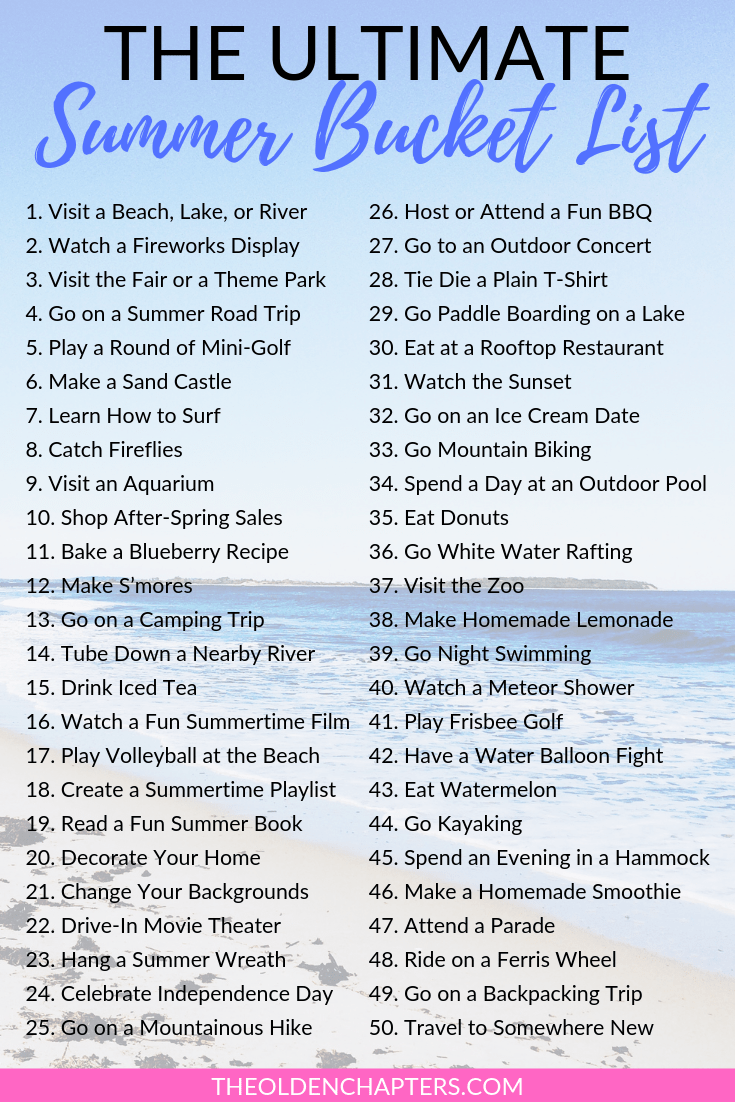 This ultimate summer bucket list is perfect for kids, couples, best friends, adults, teenagers, college students, families, and more. Includes awesome ideas such as crazy travel ideas, beach destinations, fun recipes, wild adventures, fun activities with your boyfriend, senior year ideas inspired by Tumblr and more. Pin now to create your ultimate summer bucket list for adults and use the free printable to get you started! #summer #bucketlist