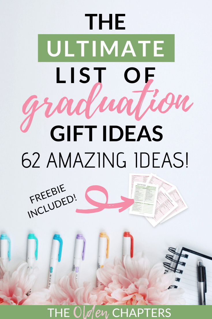 Top graduation gift ideas for high school and college students from The Olden Chapters. Includes the perfect gift for boys, gifts, friends, boyfriend, girlfriend, and best friends. Gift ideas range from inexpensive and useful, to extravagant unique finds. Check out this great graduation gift guide today and get the perfect gift for your favorite student today! #graduationgifts #graduationgiftideas #graduation #highschool #college