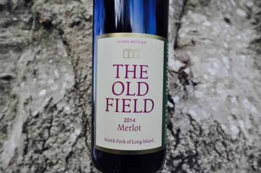 The Old Field, Merlot, Estate Bottled, 2014 Merlot, North Fork of Long Island, tree bark