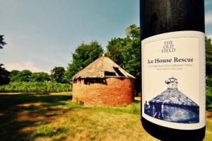 Ice House Rescue, 2014 Cabernet Franc, Ice House, Vineyard, Vines, Vineyard, Trees, Grass