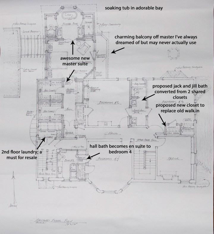 2nf floor drawings