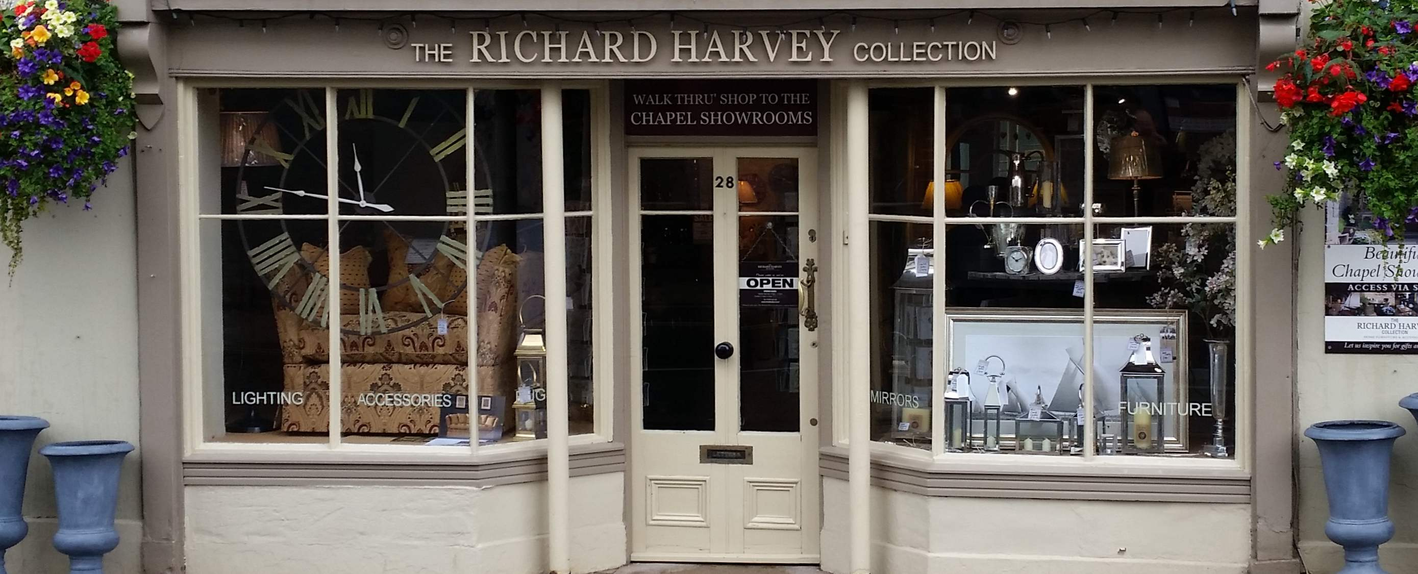 The Richard Harvey Collection shop in Shipston-On-Stour