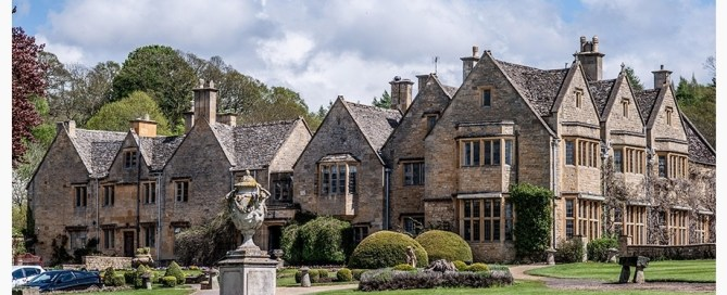 Buckland Manor, one of the best fine dining options when staying at our Cotswolds B&B