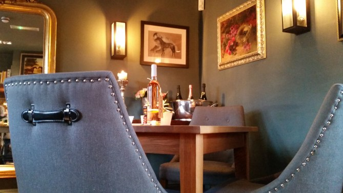 Excellent dining at The Fuzzy Duck in Armscote near our Cotswolds B&B