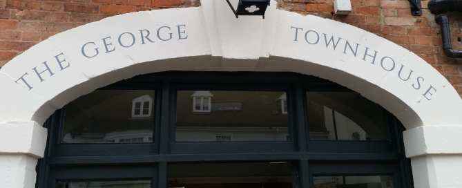 The George Townhouse Entrance