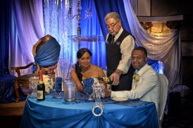 Mariam and Mark Wedding Photo Video at Claireport Place