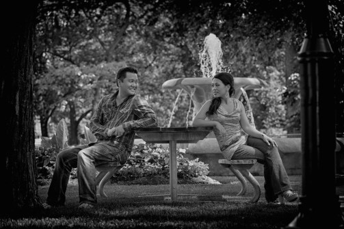 Engagement Photography and Video in Gage Park Brampton