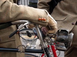 tweed bike cuff