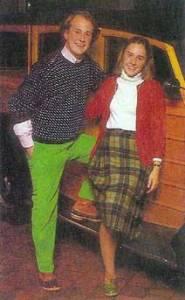 Preppy Couple