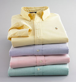 Variety is the spice of life, as long as it's a button-down oxford.