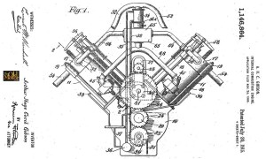 Mystery VTwin Engine Solved – 1909 Gibson Patent