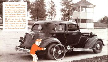 """Take A Trip Through The Packard Proving-Land"""" published in 1936"""