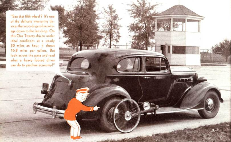 "Take A Trip Through The Packard Proving-Land"" published in 1936"