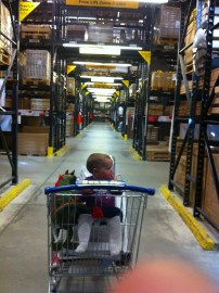 Ikea and a Baby