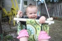 baby swing DIY