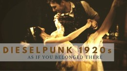 DIESELPUNK 1920s as if you belonged there - The fantastical side and the historical side of dieselpunk. That's what I share on my blog