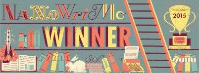 NaNoWriMo 2015 Winner banner