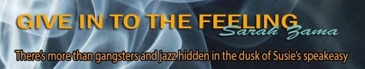 Give in to the Feeling (Sarah Zama) Banner