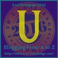 U - Union (AtoZ Challenge 2016)