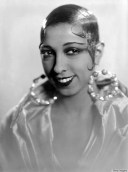 Josephine Baker was born Freda Josephine McDonald in St. Louis, MO, in 1906. She first danced for the public on the streets of St. Louis for nickels and dimes. Later she became a chorus girl on the St. Louis stage. At age 15 she married Pullman porter, but left him when she ran away from St. Louis at age 17, feeling there was too much racial discrimination in the city. She eventually made her way to Paris, France
