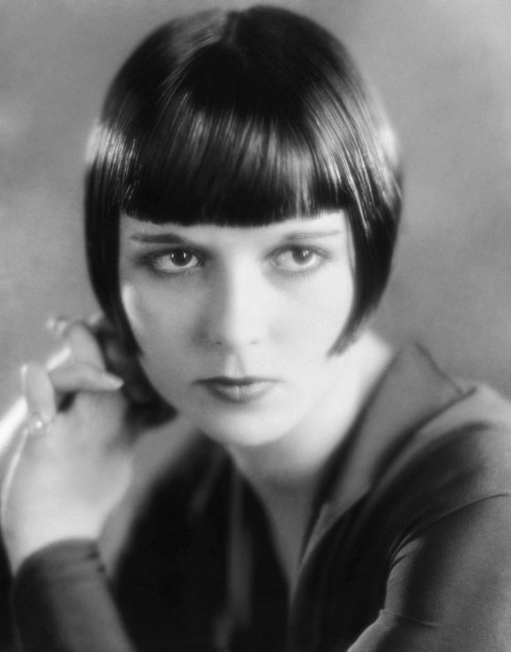 Louise Brooks (November 14, 1906 – August 8, 1985), born Mary Louise Brooks, was an American film actress and dancer noted as an iconic symbol of the flapper, and for popularizing the bobbed haircut.