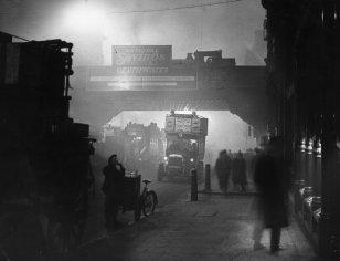 Ludgate Circus, London, November 1922