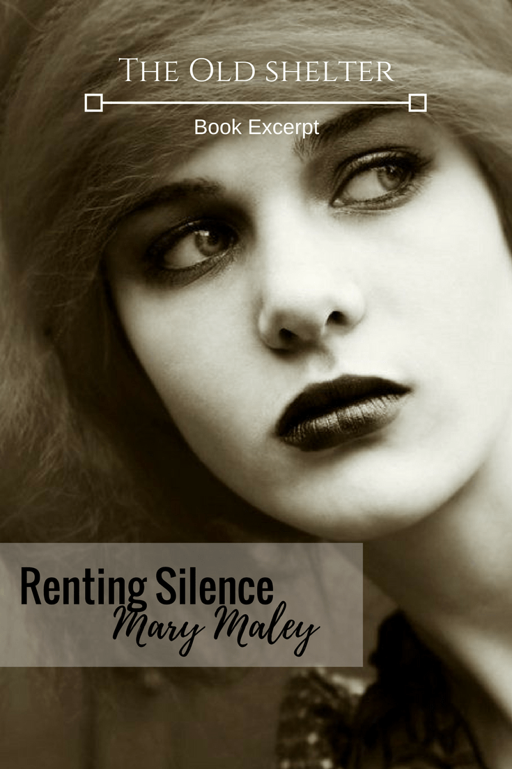 RENTING SILENCE by Mary Maley - When Jessie is asked by her idol, the famous actress Mary Pickford, if she can do some private investigating for her, Jessie reluctantly accepts. A girl was found stabbed in her bedroom with another woman lying unconscious on the floor next to her, a bloody knife in her hand. With no police investigation into the murder, it's up to Jessie to hone her amateur detective skills and prove the girls innocence before she hangs for murder