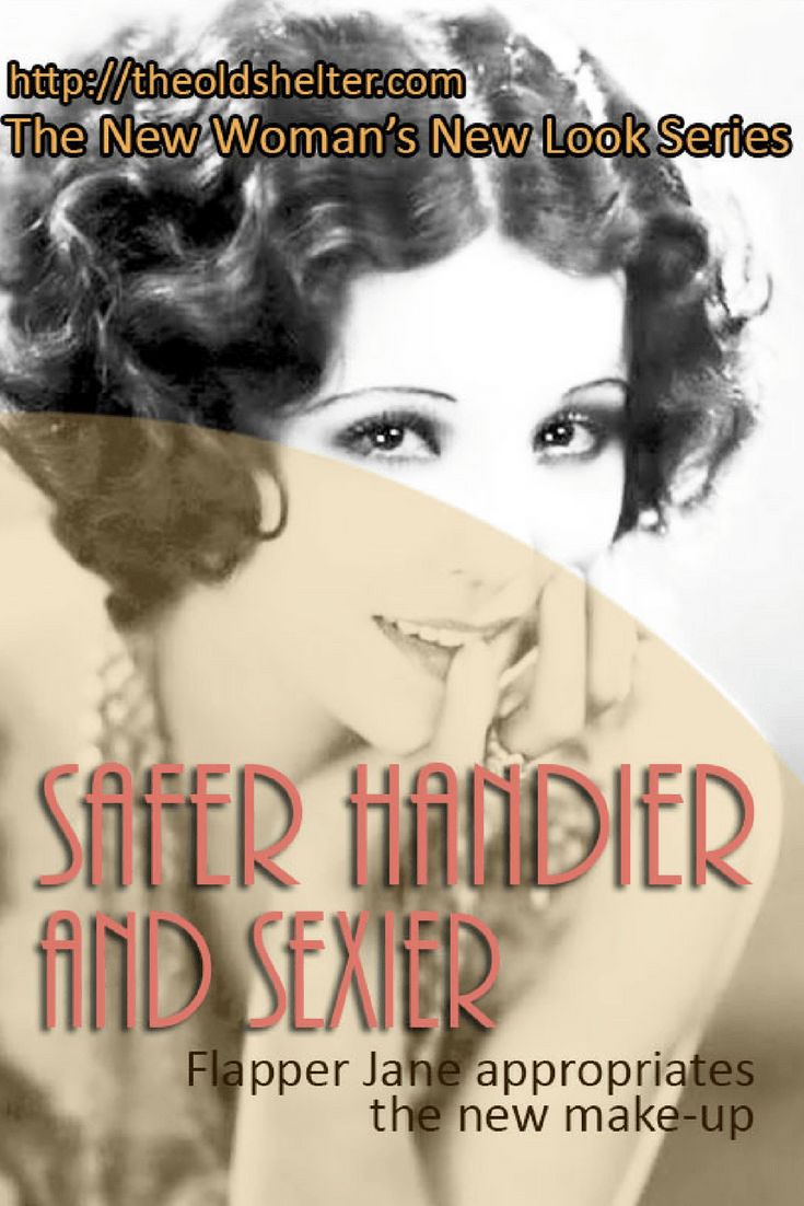 Safer Handier and Sexier (The New Woman's New Look) The young woman that started to appear at the dawn of the 1920s was one that wanted to be indipendent and daring. The flapper set out to become her own woman