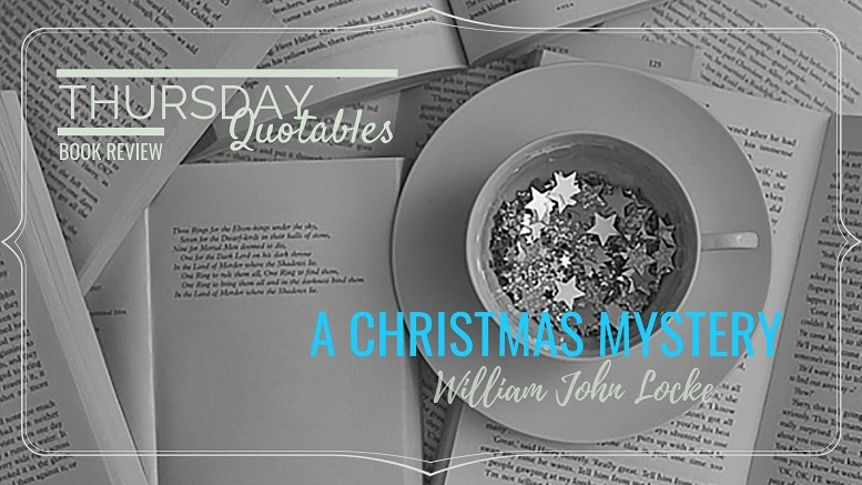 A Christmas Mystery.Thursday Quotables A Christmas Mystery The Old Shelter