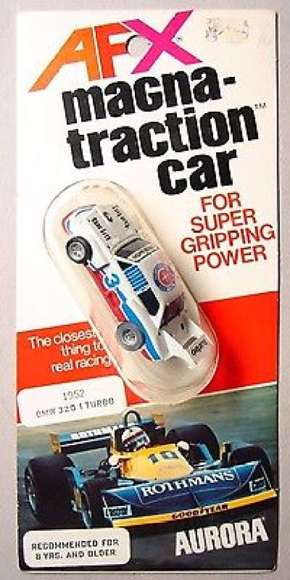 AURORA AFX - BMW 320 TURBO - HO SLOT CAR - MIP 1978 - The