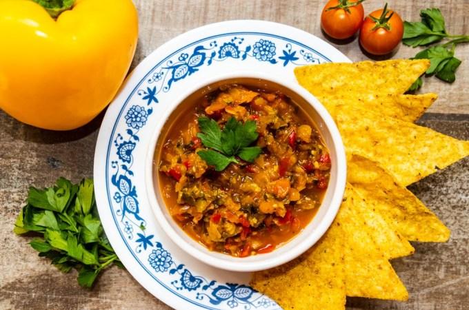 fermented bell pepper salsa