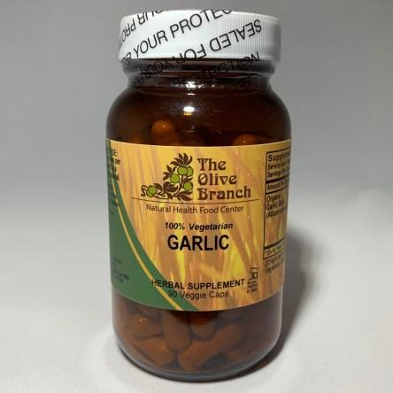 The Olive Branch Garlic 90 Veggie Capsules