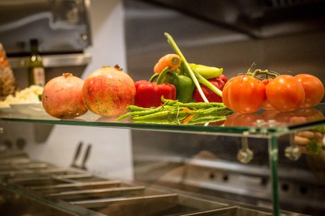 Fresh ingredients ready for the kitchen