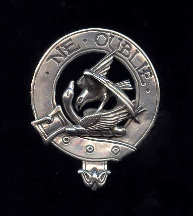 Badge Of A Clan Of Scotland