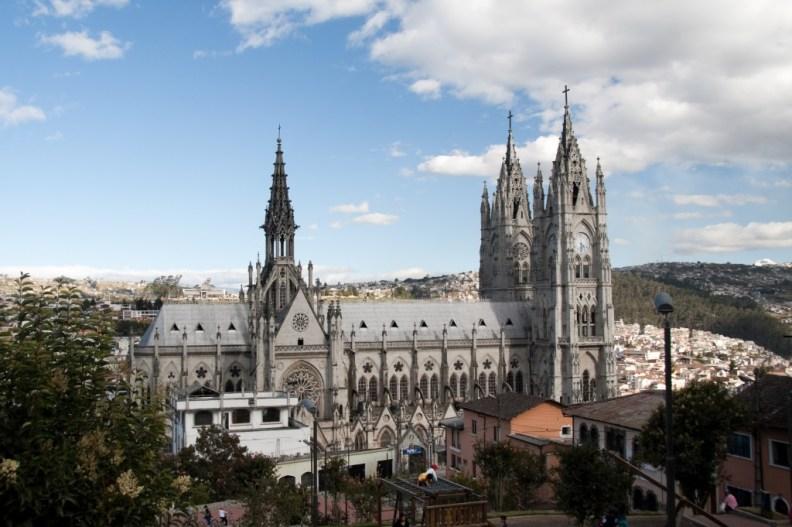 Basilica del Voto Nacional, Quito, Peru