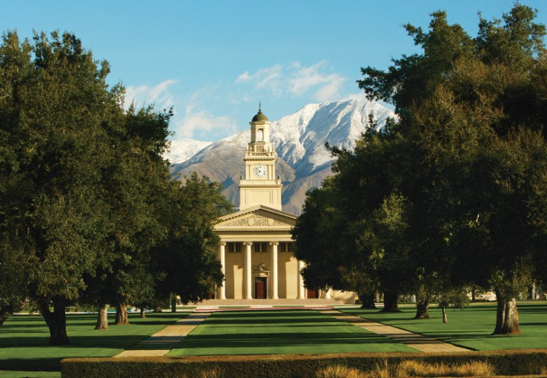Quadrangle And Memorial Chapel, University Of Redlands, Redlands, CA