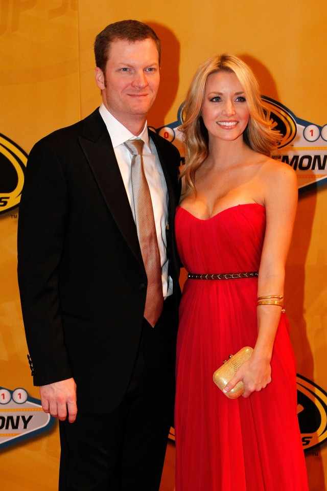 Amy Reimann And Dale Ernhardt, Jr.