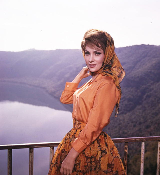 Gina Lollobrigida in the 1950s