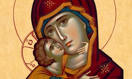神的母親 Theotokos by St. Silouan