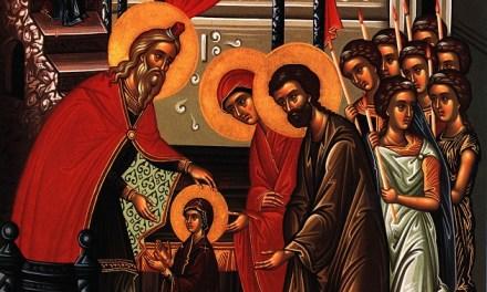 聖母進殿節 Theotokos