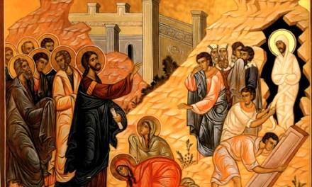 拉撒路復活週六:受苦的神 Lazarus' Resurrection&Suffering God