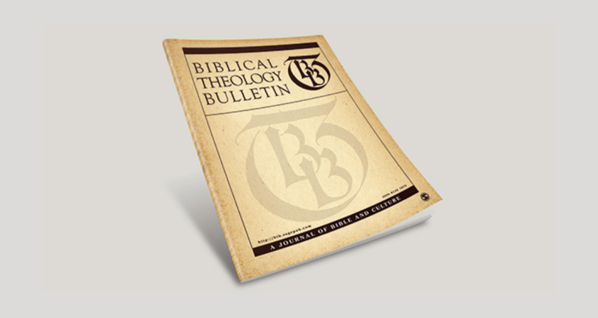 Biblical Theology Bulletin Cover Image