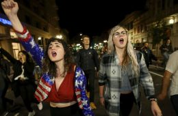 Bay Area Protests (Jane Tyska/Bay Area News Group via AP)